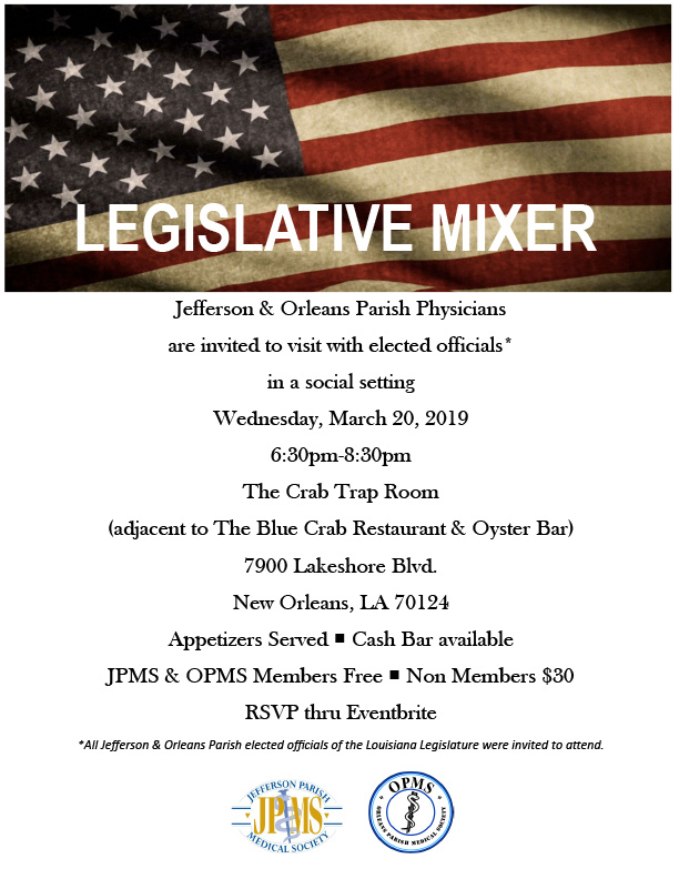 legislative mixer flyer 2019